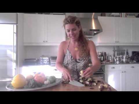 Meyer Lemon Marinated Baby Artichokes