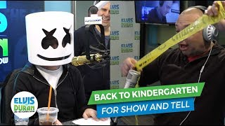 Reliving Kindergarten with Show and Tell | Elvis Duran Exclusive