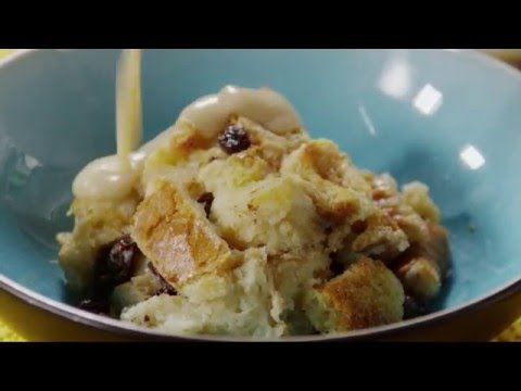 How to Make Bread Pudding with Vanilla Sauce | Dessert Recipes | Allrecipes.com
