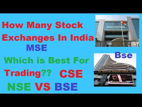 How many stock exchanges in India and which is good for Trading || Episode 4