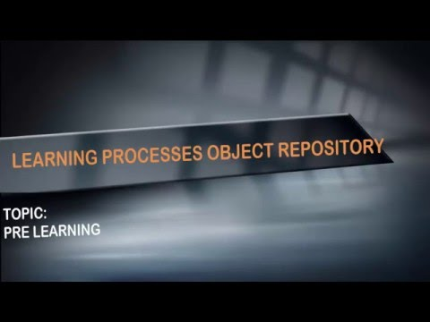 Adding objects to object repository in qtp-PRE LEARNING