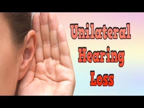 Unilateral Hearing Loss, Degrees Of Hearing Loss, Neural Hearing Loss, Hearing Loss Decibels
