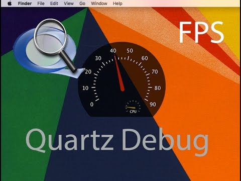 How to Monitor FPS (Frames Per Second) Live in Mac OS X with Quartz Debug
