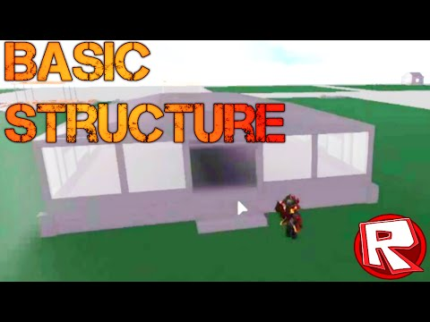 ROBLOX Tutorial: How To Make a Basic Building/Structure 2013 (Commentary, HD)