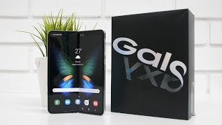 Samsung Galaxy Fold Unboxing & Overview (Indian Unit) Foldable Smartphone