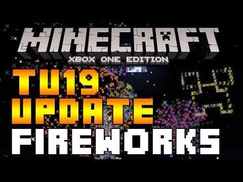 Minecraft (Xbox360/PS3) - TITLE UPDATE 19 FIREWORKS + FIREWORKS STAR EXPLAINED TUTORIAL! [TU19]