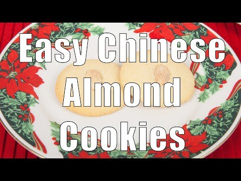 Making Chinese Almond Cookies (Med Diet Episode 63)