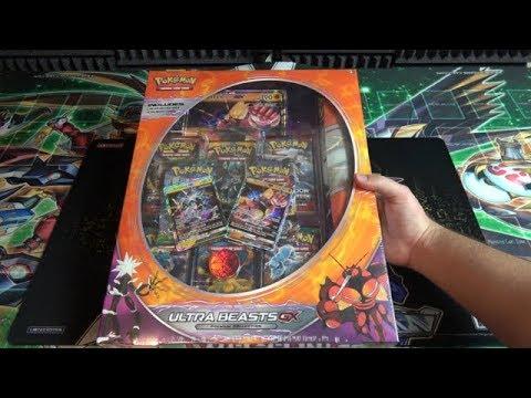 Pokemon TCG Sun & Moon Ultrabeast Premium Collection Buzzwole GX Opening