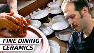 How a Ceramics Master Makes Plates for Michelin-Starred Restaurants — Handmade