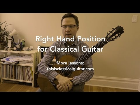 Lesson: Right Hand Position & Technique for Classical Guitar