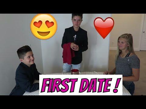Teenage First Date | Brock and Boston