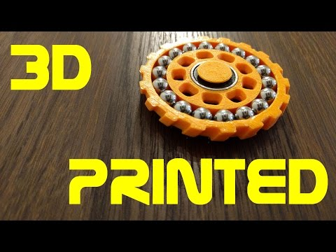 Double Bearing Fidget Spinner - 3D Printed