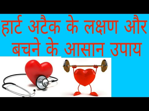 What is Heart Attack and Symptoms, Treatment of Heart Attack (HINDI)