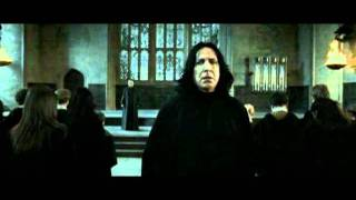 Harry Potter and the Deathly Hallows - Severus Snape vs Minerva Mcgonagall