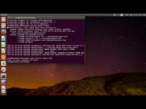 Squid proxy server installation on Ubuntu in Bangla