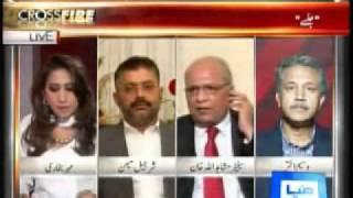 MQM Waseem Akhtar Threatened To Kill Senator Mushahid Ullah.flv