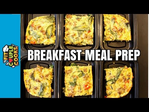 How to Meal Prep - Ep. 35 - BREAKFAST FRITTATA
