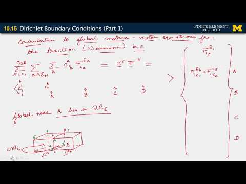 10.15 Dirichlet Boundary Conditions (Part 1)