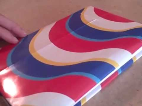 How to Make a Book Cover out of a Gift Bag