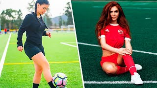 10 MOST BEAUTIFUL FEMALE FOOTBALLERS