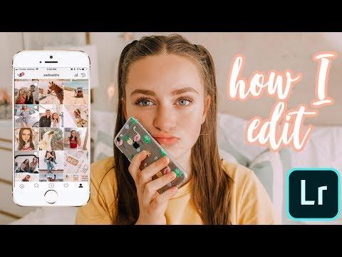 How I Edit My Instagram Photos! | Warm & Bright Theme