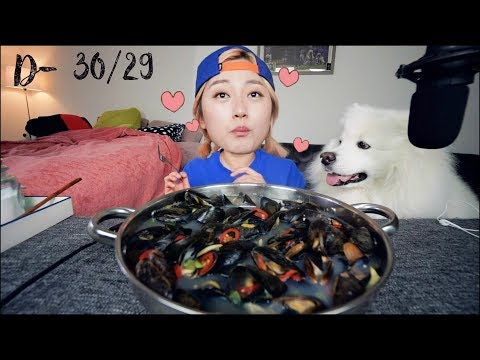 Keto Diet Challenge Week#1 -  Mussel Soup Recipe Mukbang and more | KEEMI★