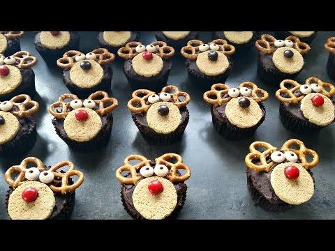Christmas Cupcakes - REINDEER CUPCAKES!!!!