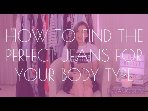 How to find the perfect jeans for your body shape