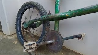 Dando Vida a uma Velha Bicicleta, Transformação