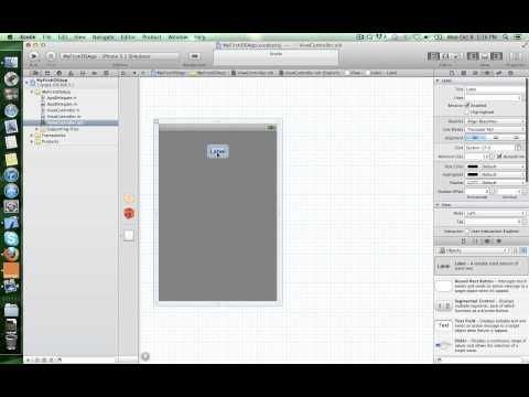 Creating your first iOS app in Xcode
