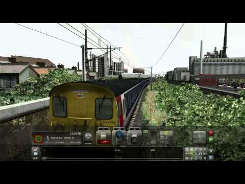 Train Simulator 2015. London Tilbury Southend. Barking to London Fenchurch Street Beta