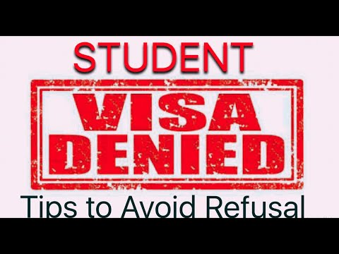 Student Visa :- Most common Reasons for refusal of your Study Permit of any country   Latest rules