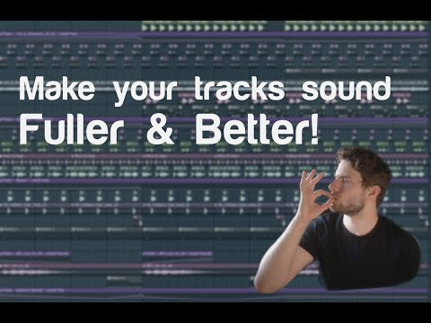 Fl Studio 12 | How to make your tech house tracks sound FULLER!