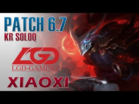 LGD Xiaoxi - Yasuo Mid Lane - KR SoloQ