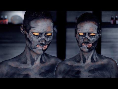 Black Ops 3 Zombie Makeup Tutorial