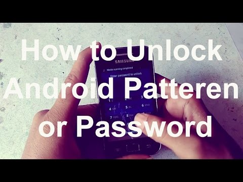 How To Remove Forgotten Passcode/Pattern Form Android Devices