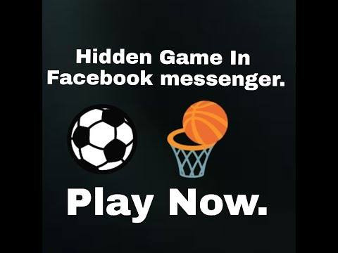 How to play hidden games in facebook messenger 2018|fb games