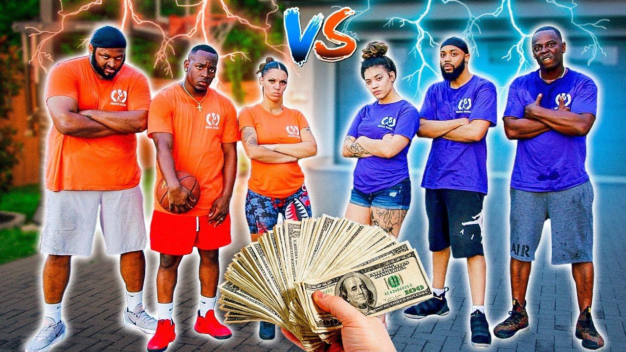 THE PRINCE FAMILY BASKETBALL GAME!!