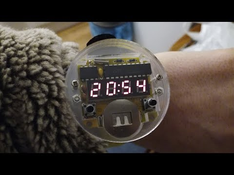 Let's Build Kits - LED Watch
