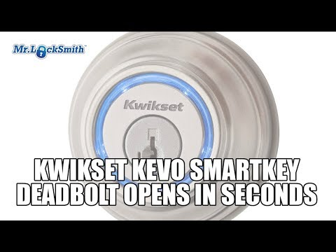 Kwikset Kevo SmartKey Deadbolt Opens in Seconds | Mr Locksmith Video