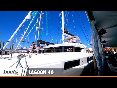 Lagoon 40: First Look Video