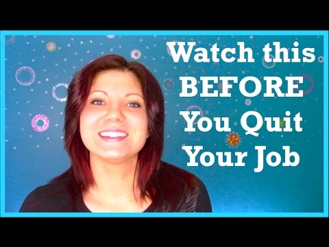 Hate Your Job? How To Quit Your Job: 3 Things To Do Before You Quit Your Job
