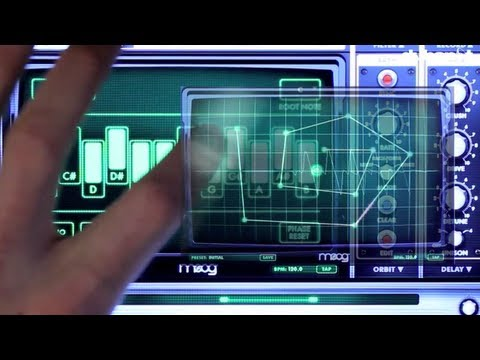 Moog Animoog iPad / iOS Sound Design Video Tutorial Pt 2: Advanced Modulation + Routing