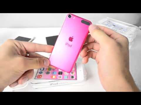 IPod Touch 6th Generation Unboxing Gold, Pink Blue First Impressions