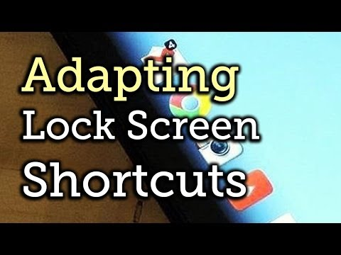 Make App Shortcuts on a Nexus 7 Lock Screen Adapt to Your Location & Usage [How-To]