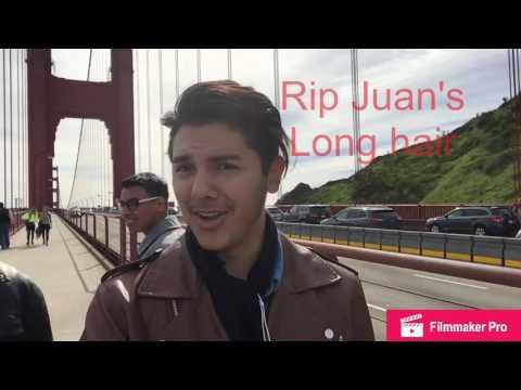 The Long walk across the Golden Gate Bridge