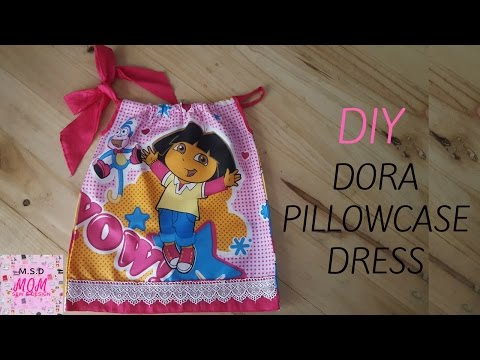 DIY Dora Pillowcase Dress