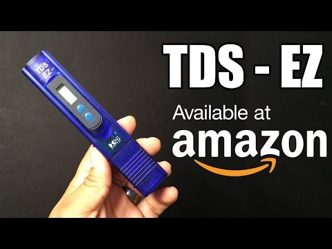 TDS-EZ WATER TESTER | REVIEW | AMAZON PRODUCTS: