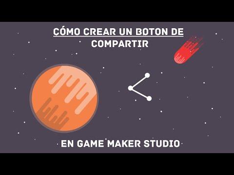 Cómo crear un botón de compartir en Game Maker|Android & IOS