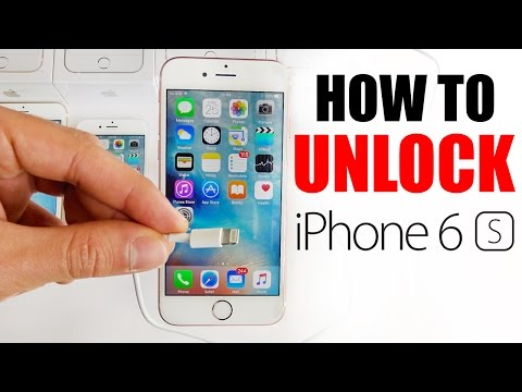 How to Unlock IPhone 6S - AT&T, Telus, Rogers, or ANY gsm carrier / ANY iOS